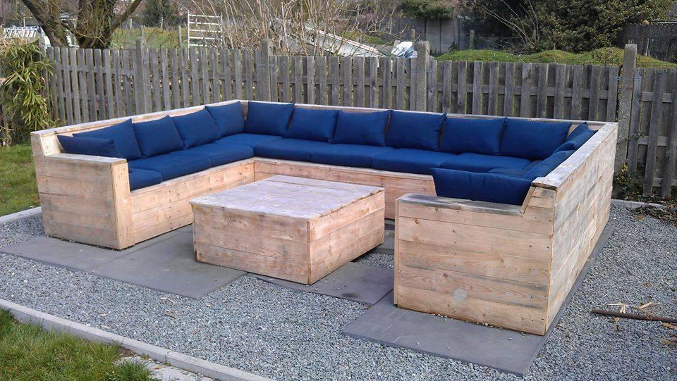 Salon jardin en palette facebook - Maison mobilier et design