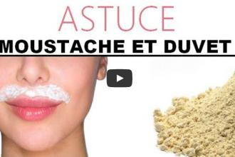 Comment se faire une pilation d finitive de la moustache et du duvet avec de la farine - Linge deteint astuce grand mere ...