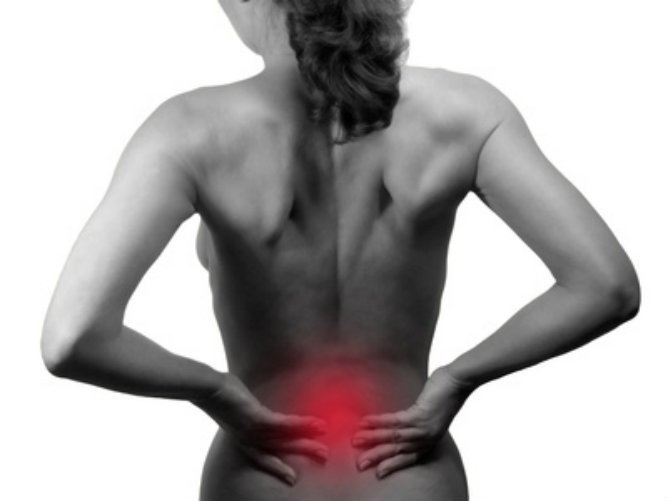 La douleur lestomac rend au dos