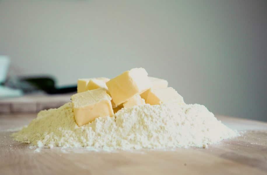 farine beurre