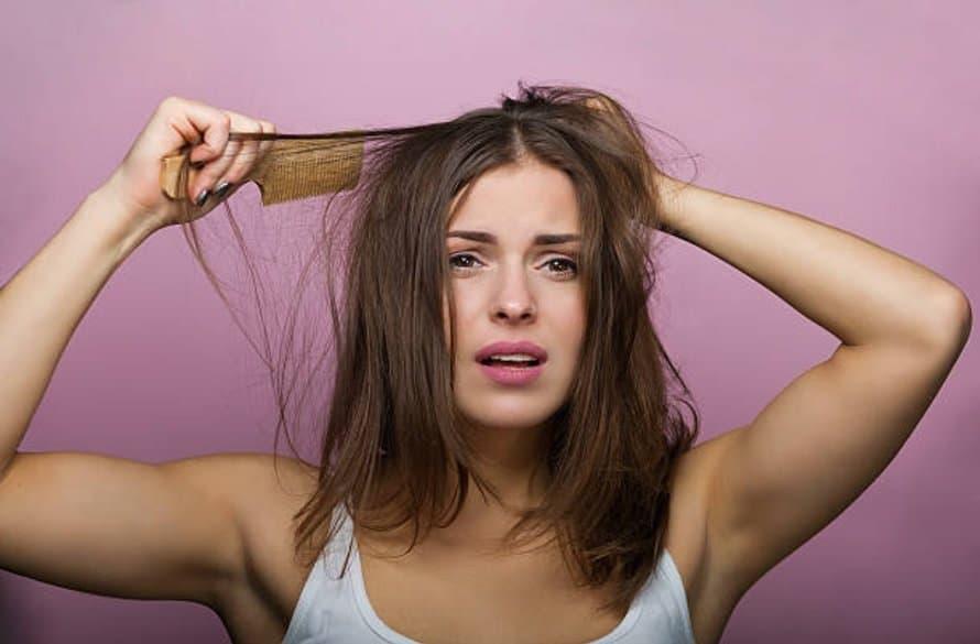 cheveux rebelles bataille coiffage coiffure peigne