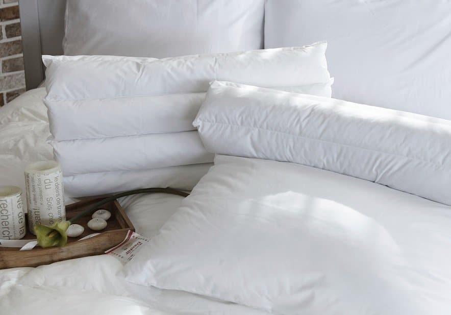 oreiller blanchir déjaunir
