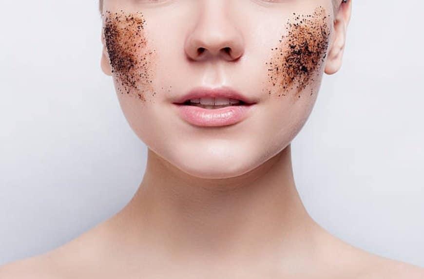 gommage visage soin beauté marc de café