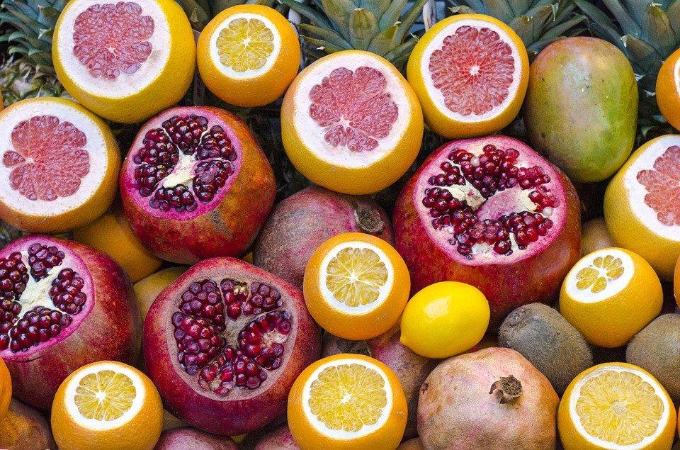 agrumes pamplemousse citron