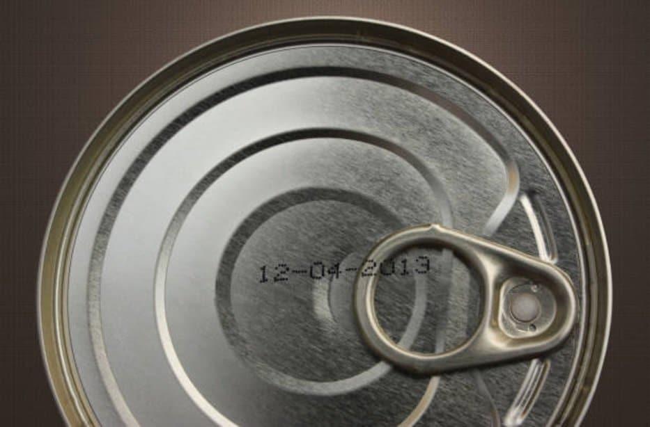 date péremption boite de conserve