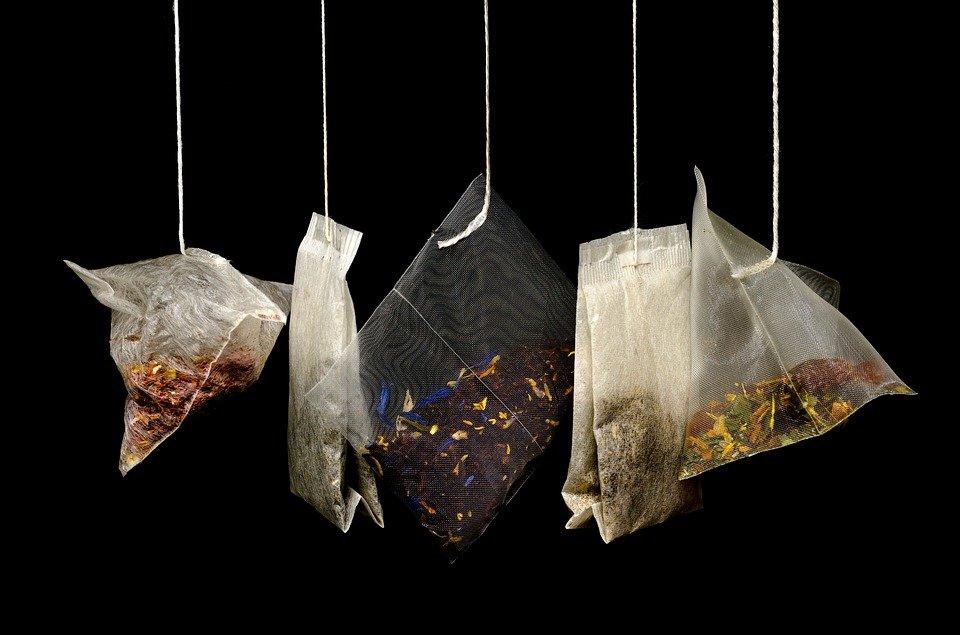 thé sachets
