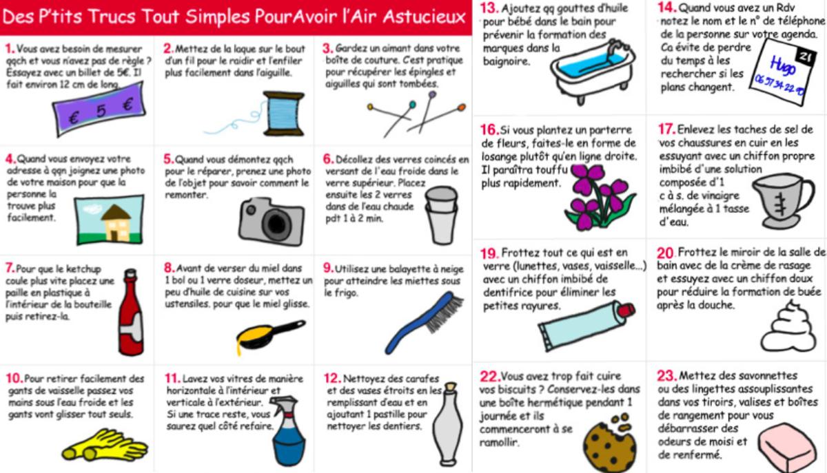 Cuisine 10 Astuces Qui Changent Tout 30 astuces toutes simples pour faciliter son quotidien
