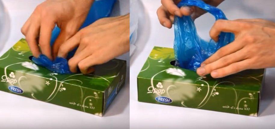 Une astuce simple pour ranger vos sacs plastiques - Astuce pour ranger les sacs plastiques ...