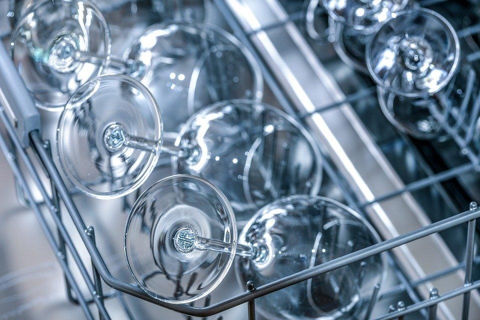 lave-vaisselle verres