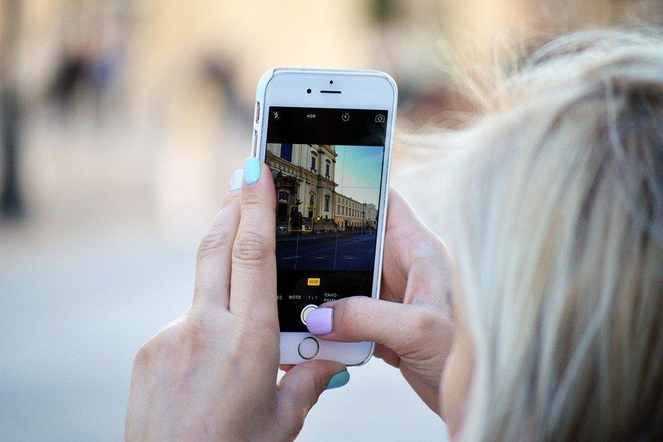 téléphone photo smartphone