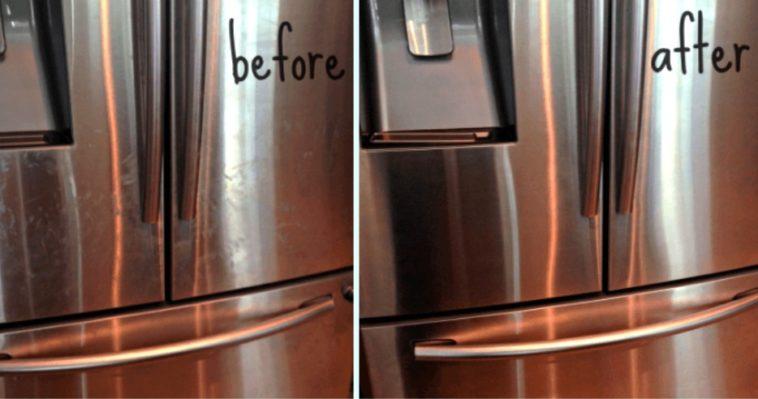 comment nettoyer vos appareils en acier inoxydable et les rendre comme neufs. Black Bedroom Furniture Sets. Home Design Ideas