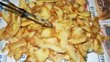 pelures épluchures pomme de terre