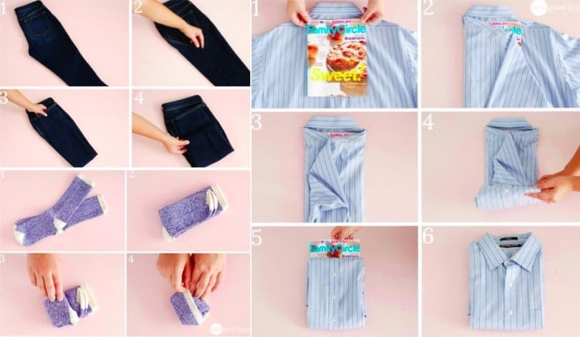 Comment tout plier la perfection 9 techniques - Plier un t shirt ...