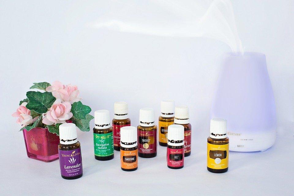 huiles essentielles diffuseur