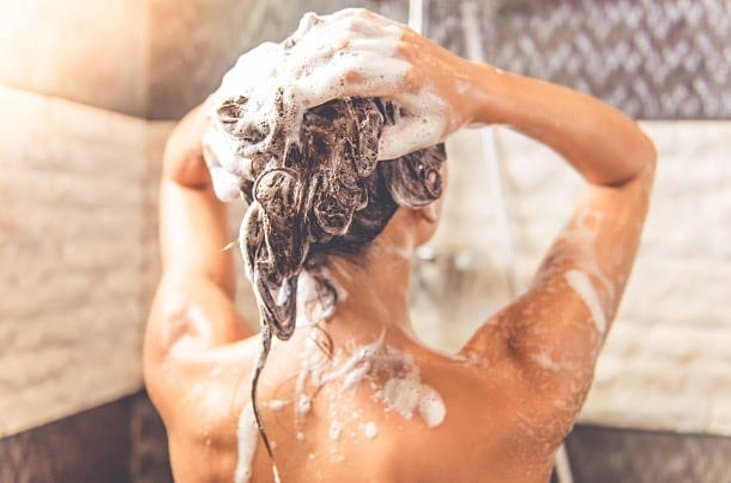 shampoing soins douche