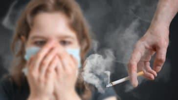 fumeur tabagisme passif cigarette fumée odeur