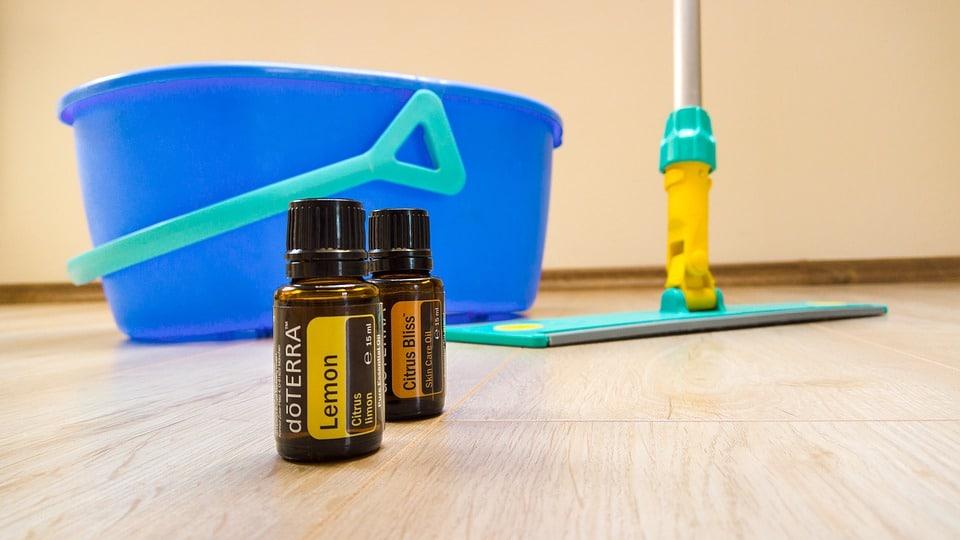 entretien ménage huiles essentielles