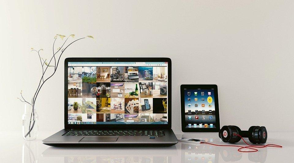 appareils électriques ordinateur tablette