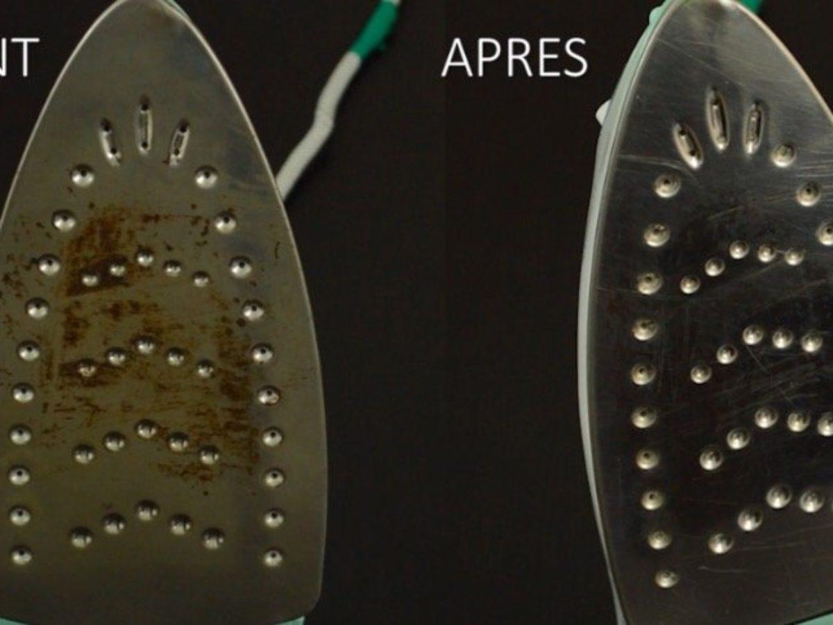 Nettoyer Semelle De Fer la semelle de votre fer à repasser ne ressemble plus à rien ? voici comment  la nettoyer !