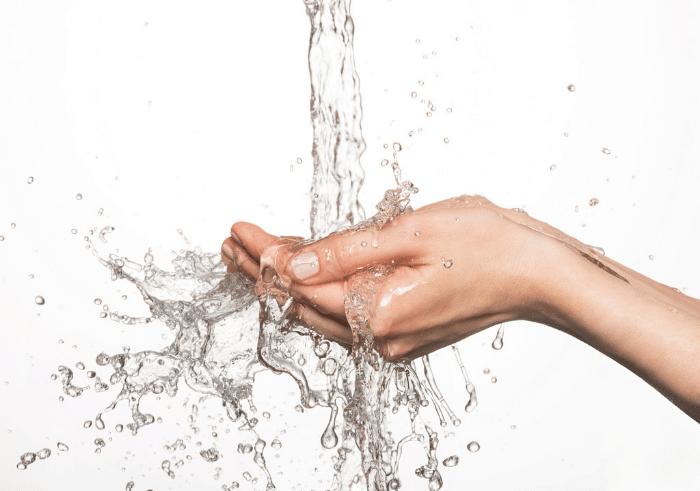 eau rinçage lavage