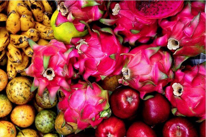 Fruits exotique été