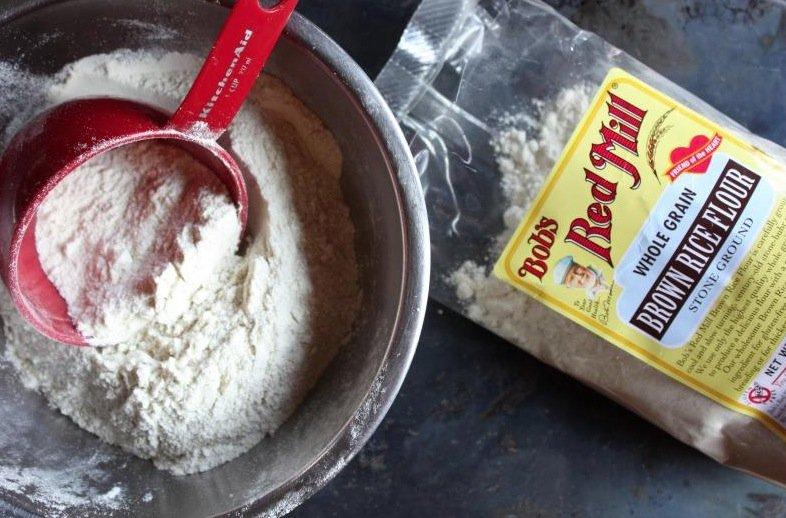 farine de riz pour remplacer farine blanche