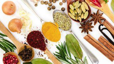 herbes épices aromates