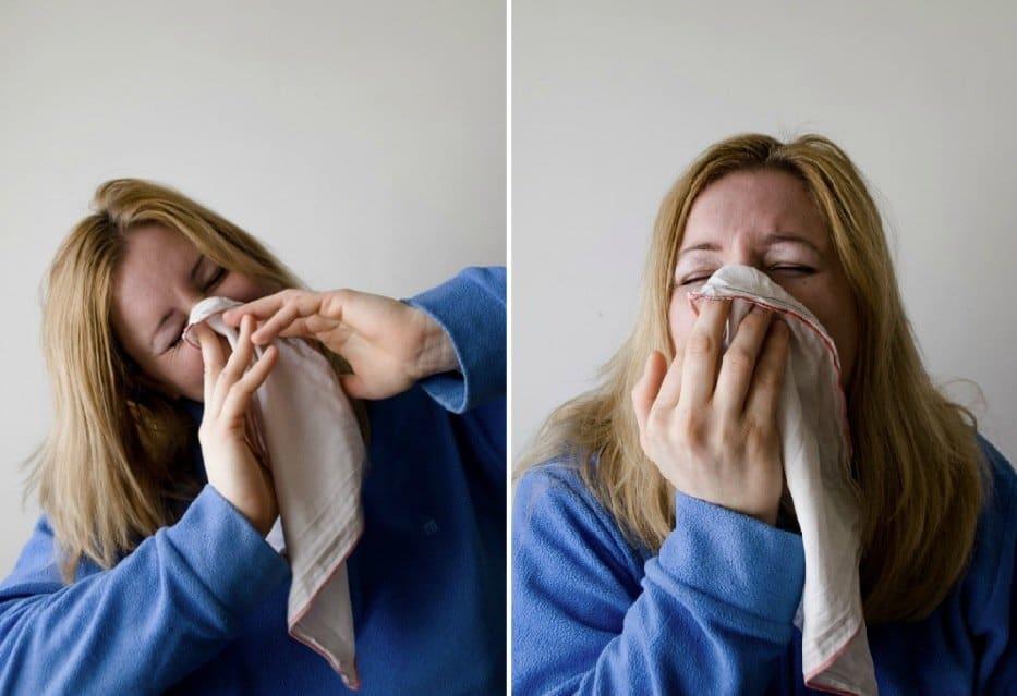 moucher se moucher allergie nez bouché nez qui coule malade