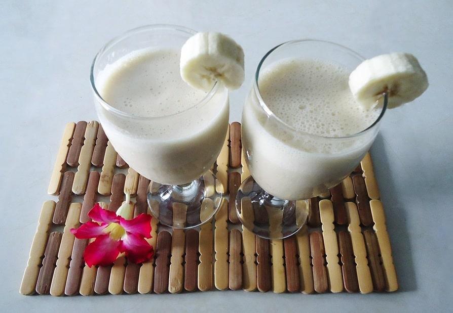 smoothie banane lait