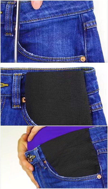 jeans femme enceinte grossesse