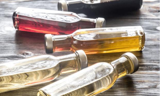 vinaigre blanc cidre bouteilles entretien ménage