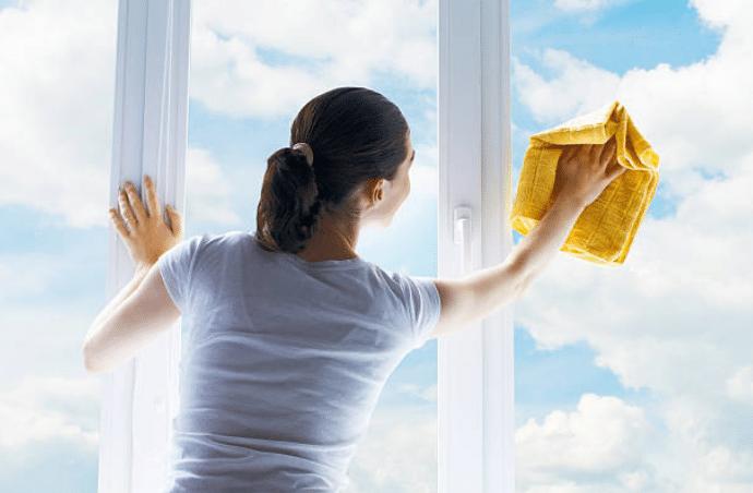 vitre fenêtre nettoyage lavage