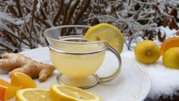 thé gingembre citron