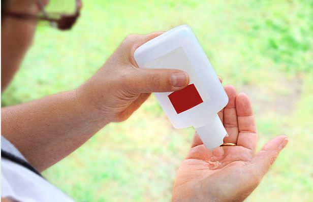 gel antibactérien hygiène des mains