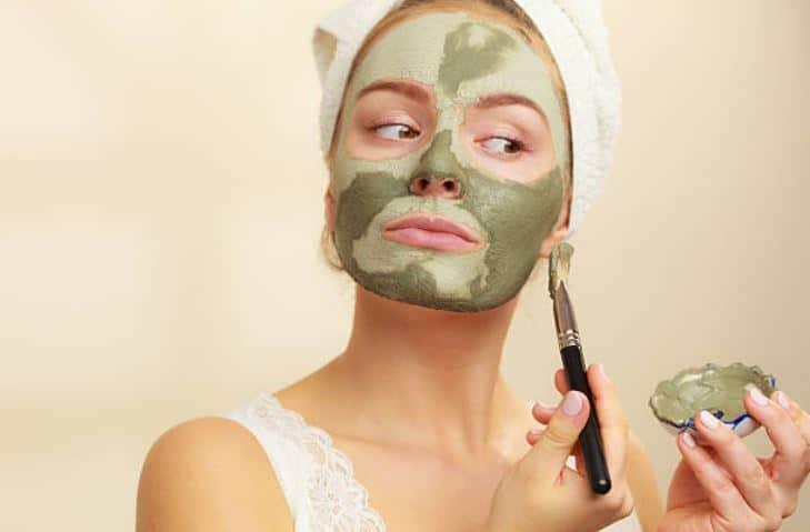masque argile verte peau mixte grasse
