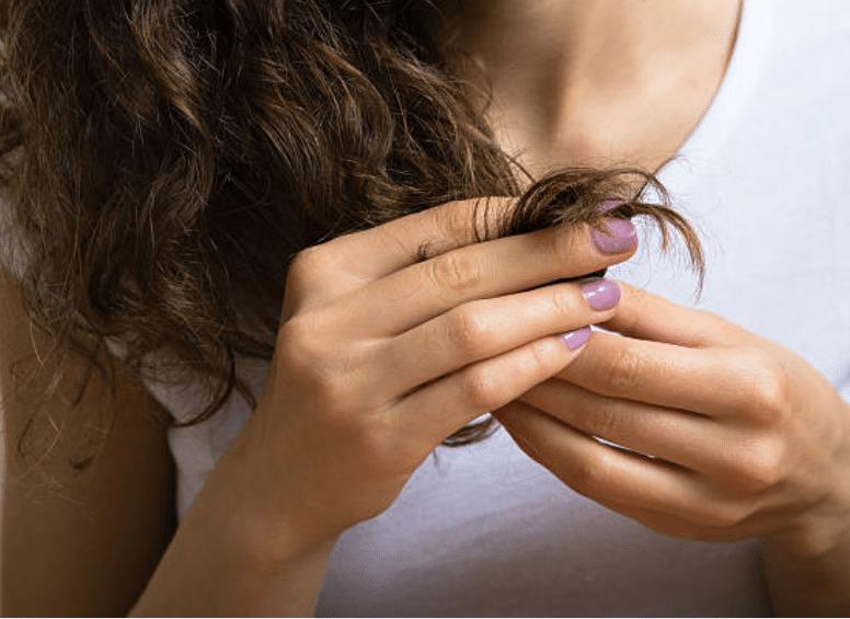 pointes sèches cheveux abîmés