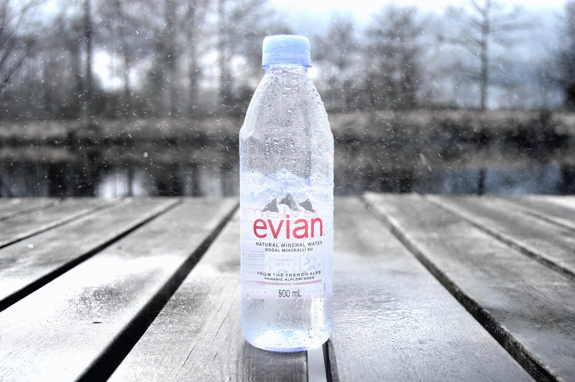 bouteille d'eau minérale