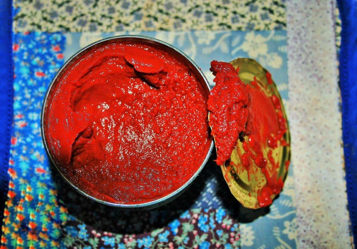concentré de tomate nutriments lycopène