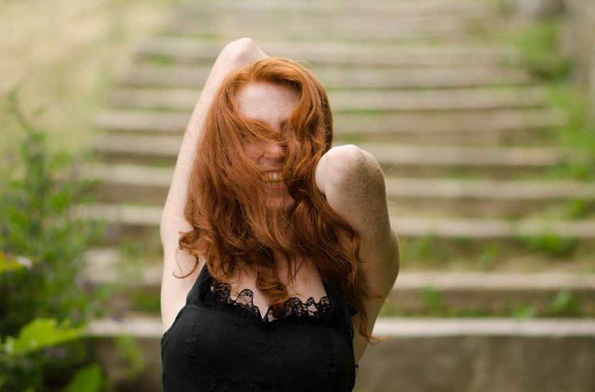 cheveux roux rousse