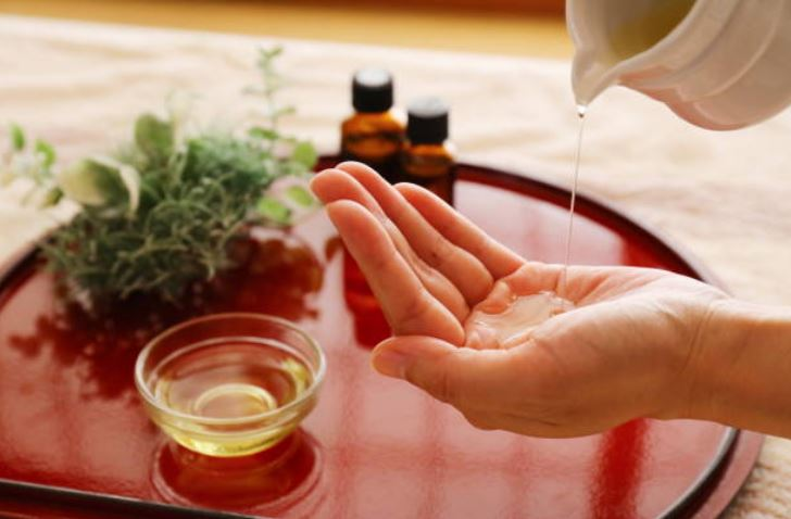huile huile essentielle massage soin