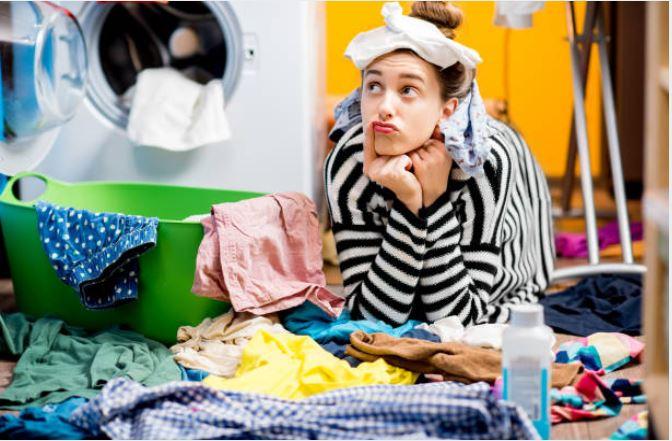vêtements lessive machine ménage casse tête entretien du linge