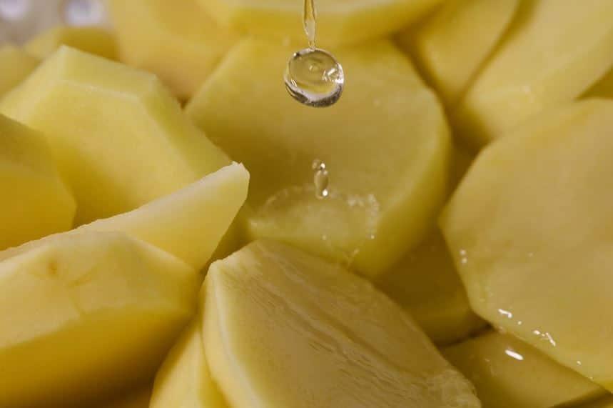 eau pomme de terre