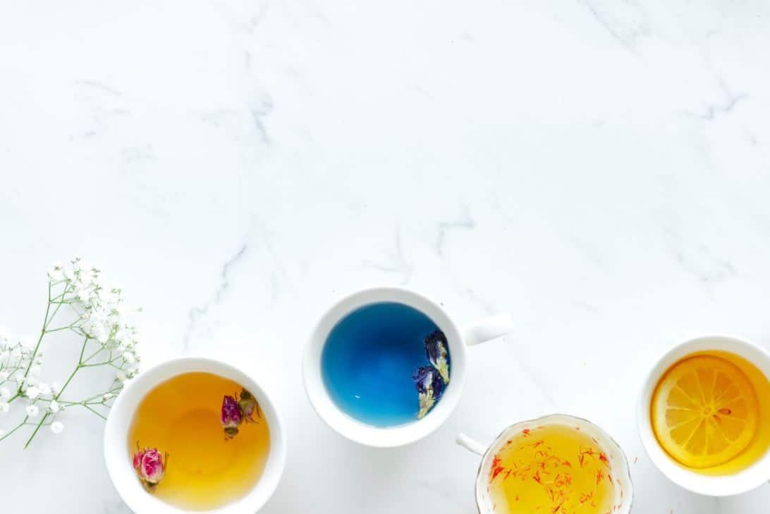 marbre boissons thé