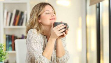 odeur relaxation tasse boisson