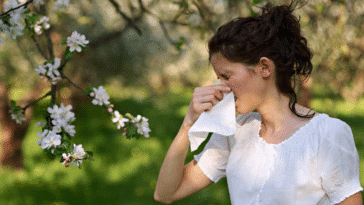 allergie pollen mouchoir