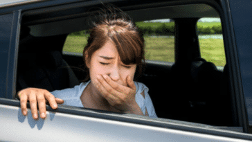 cinétose mal des transports nausées voiture