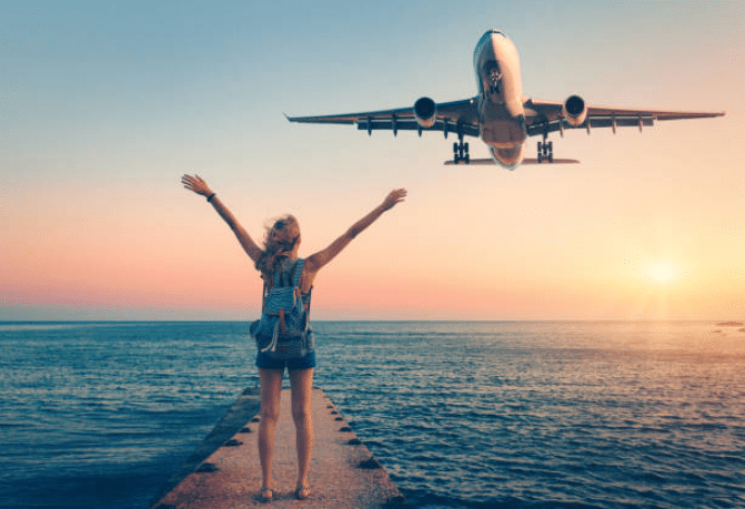 voyages vacances avion mer dépaysement aventure