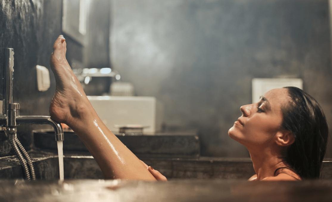 bain baignoire baignade détente cocooning