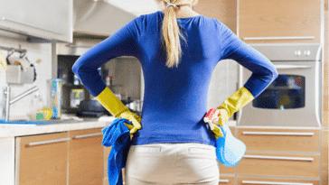 ménage cuisine nettoyage