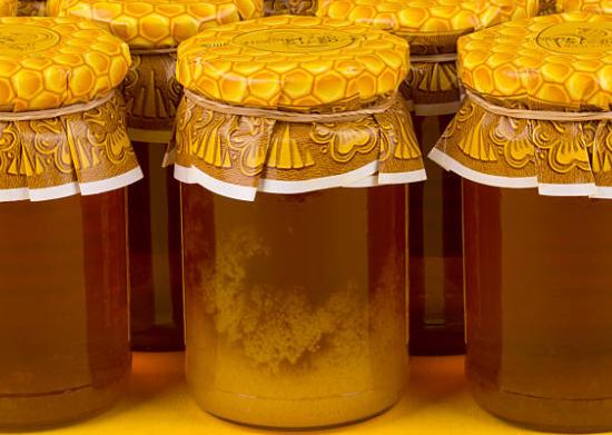 miel cristallisé
